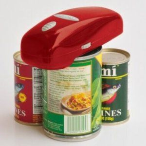 Hands-Free Automatic Handy Can Opener Red